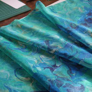 Silk Marbling